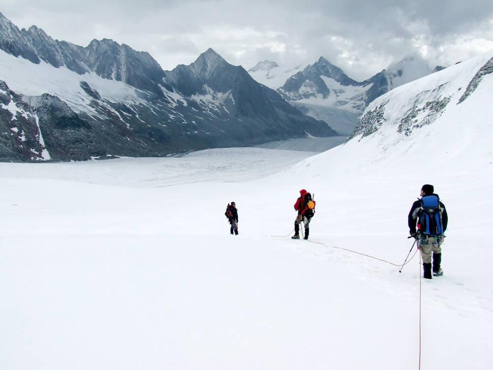 Aletsch Glacier in Switzerland - Best Time