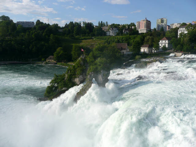 The Rhine Falls in Switzerland - Best Time
