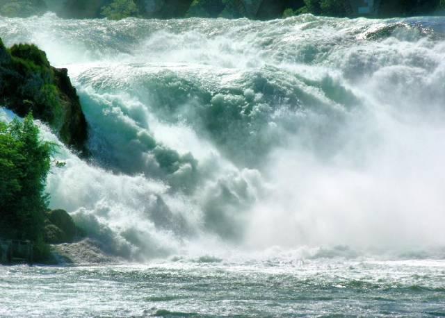 The Rhine Falls in Switzerland - Best Season
