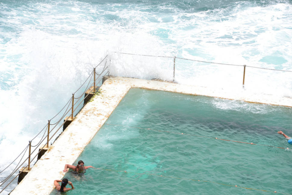 Best time for Bondi Icebergs Pool in Sydney