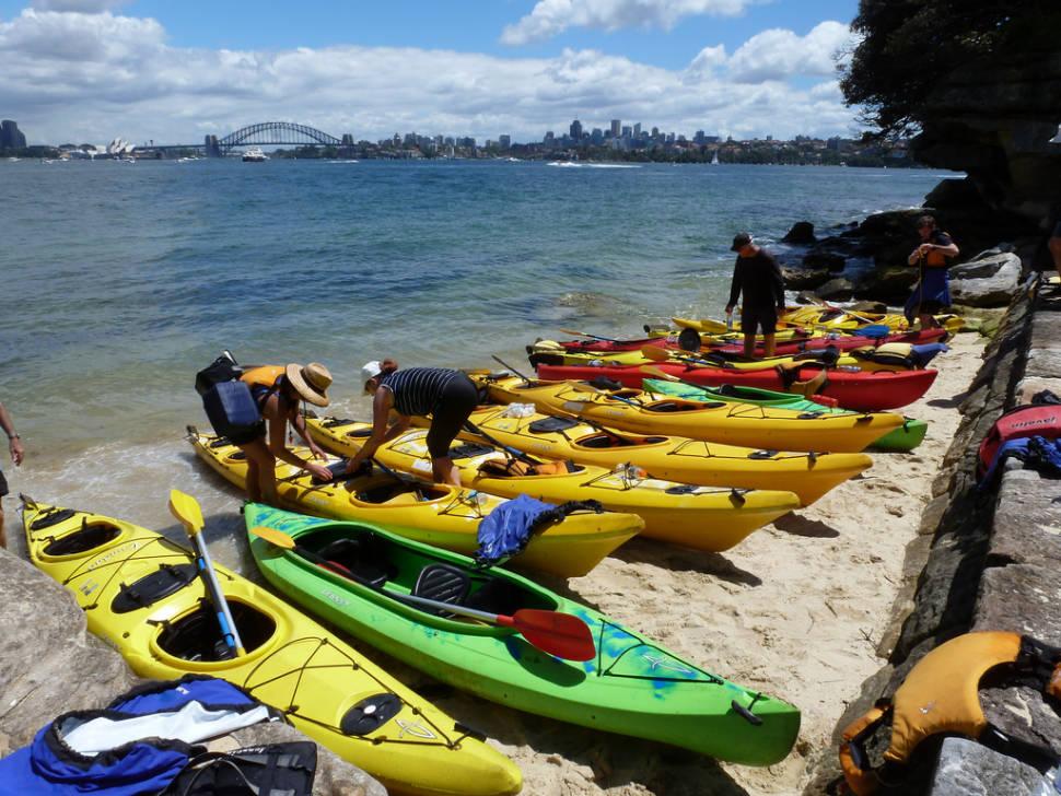 Kayaking in Sydney - Best Time