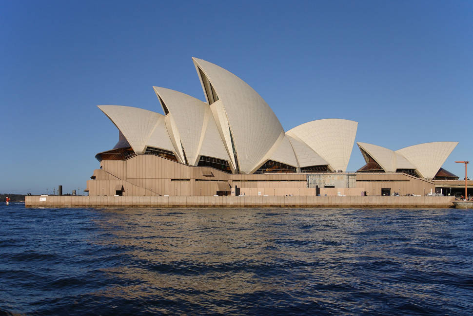 Best time for Sydney Opera House