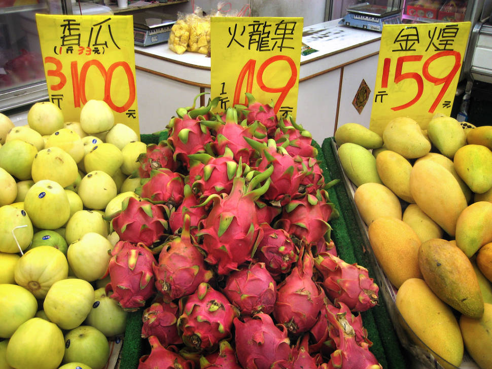 Dragon Fruit or Pitaya in Taiwan - Best Season
