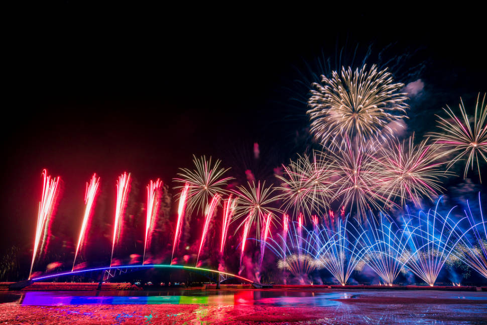 Best time for Penghu Fireworks Festival in Taiwan