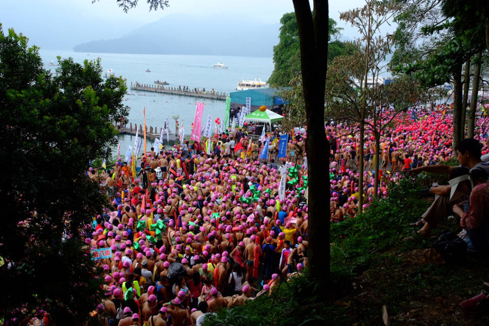 Best time to see Sun Moon Lake Swimming Carnival in Taiwan