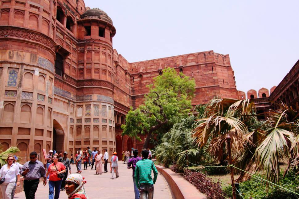 Agra Fort in Taj Mahal and Agra  - Best Season