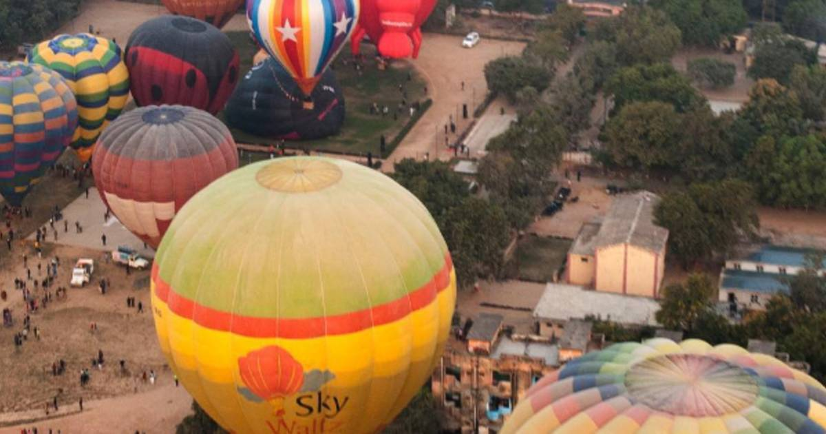Balloon Air Safari in Taj Mahal and Agra  - Best Time