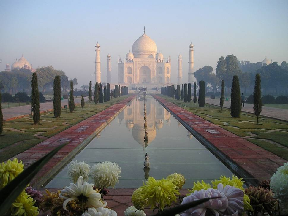 Best time for Gardens of Agra after the Monsoon in Taj Mahal and Agra