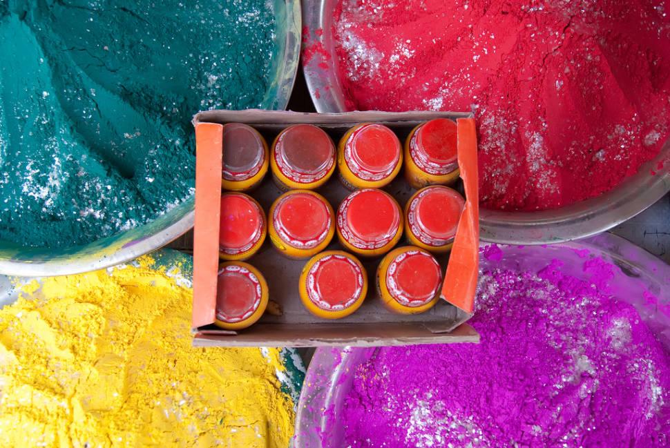 Holi Festival in Taj Mahal and Agra  - Best Time