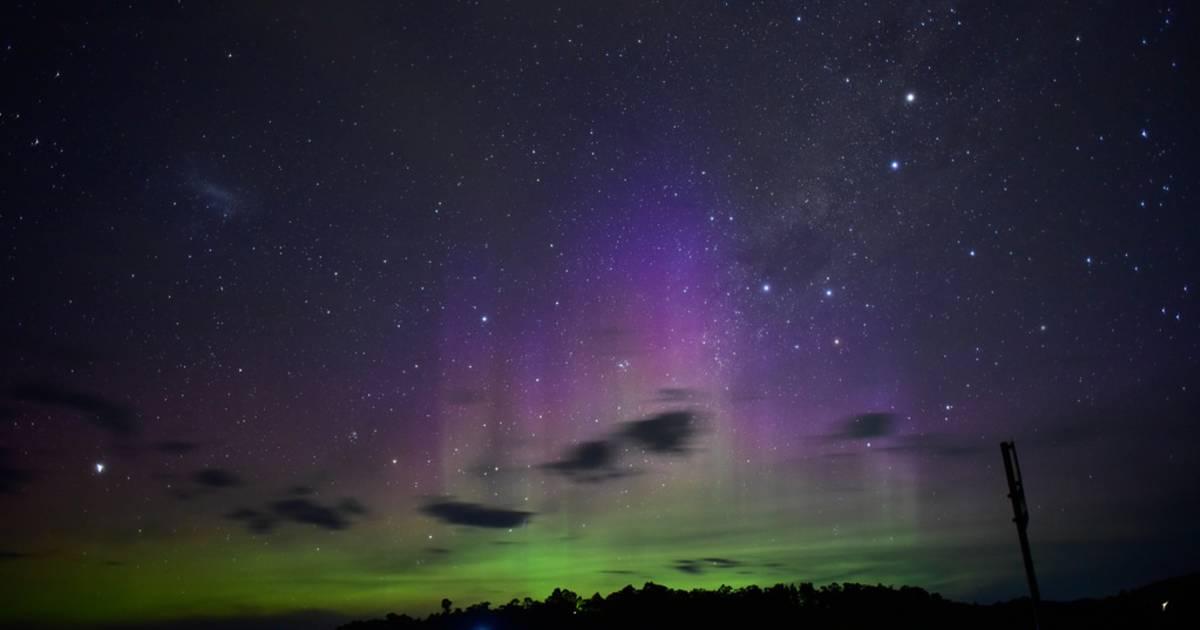 Aurora Australis in Tasmania - Best Time