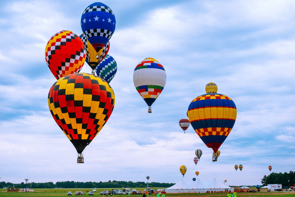 Great Texas Balloon Race in Texas - Best Time