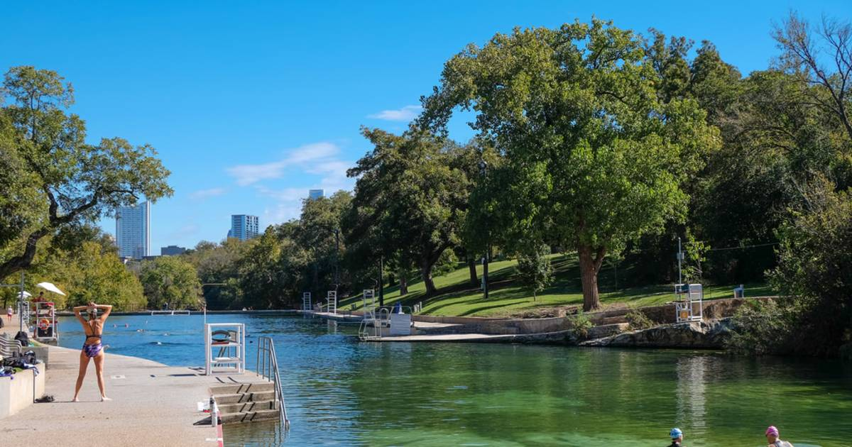 Barton Springs Pool in Texas - Best Time