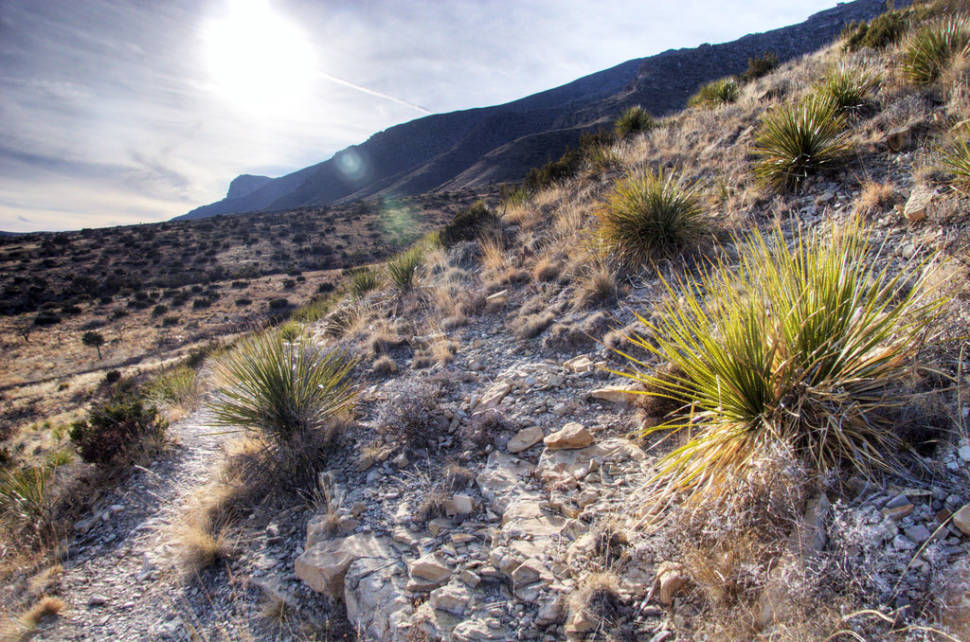 Best time to see Hiking to Guadalupe Peak in Texas