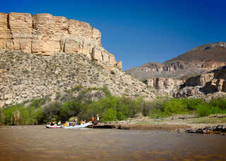 Rafting the Rio Grande