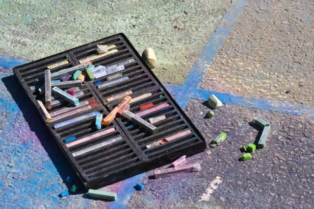 Round Rock Chalk Walk and Arts Festival in Texas - Best Season