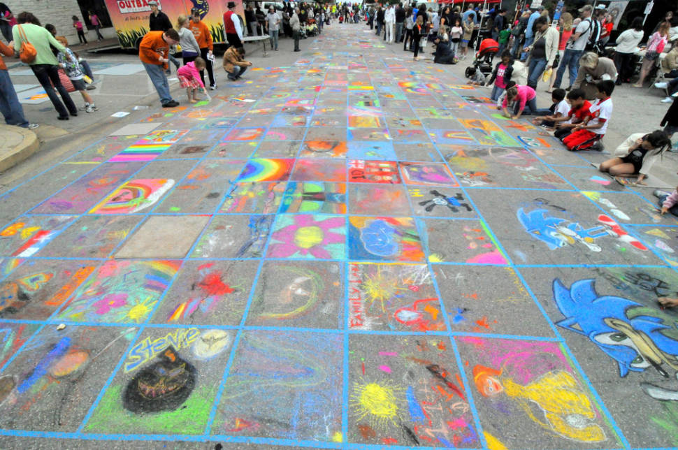 Round Rock Chalk Walk and Arts Festival in Texas - Best Time