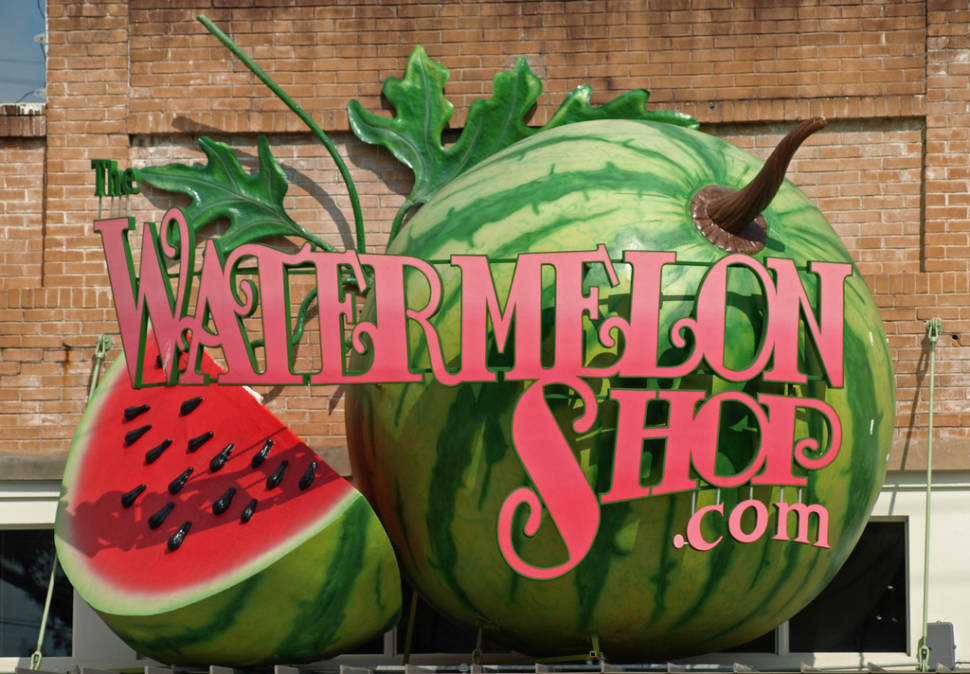 Luling, Watermelon capital of Texas