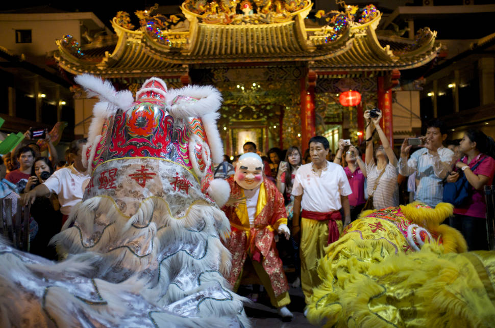 Best time for Chinese New Year in Thailand