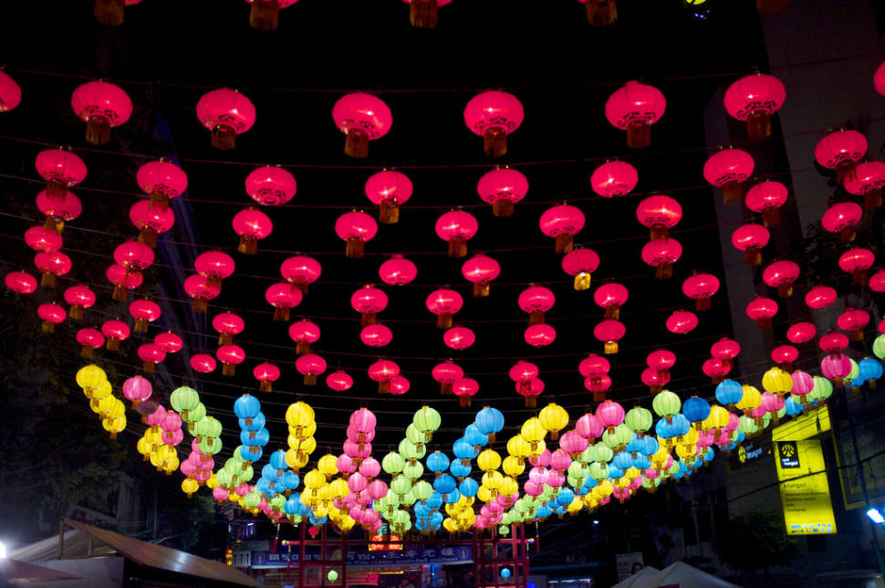 Best time to see Chinese New Year in Thailand