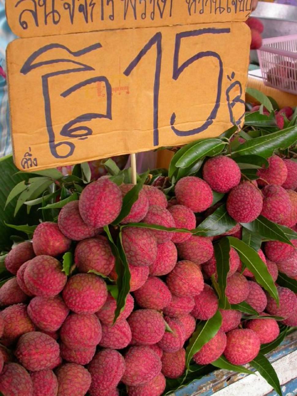 Lychee or Litchi Season in Thailand - Best Season