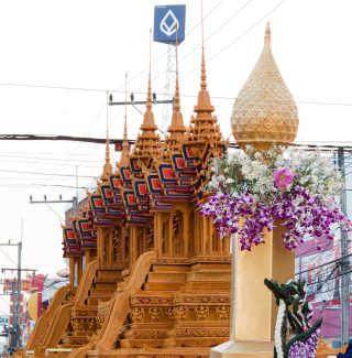 Sakon Nakhon Wax Castle Festival
