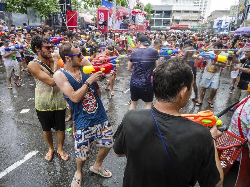 Best time to see Songkran in Thailand