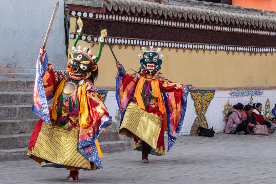 Losar or Tibetian New Year in Tibet - Best Time