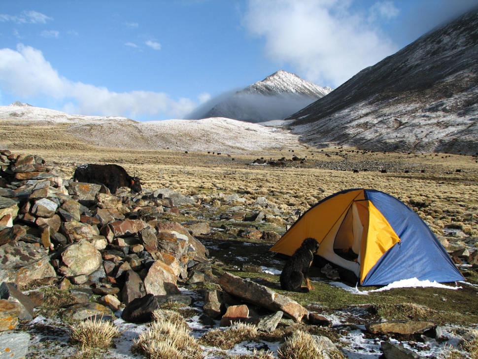 Trekking 4 days from Ganden Monastery to Samye Monastery