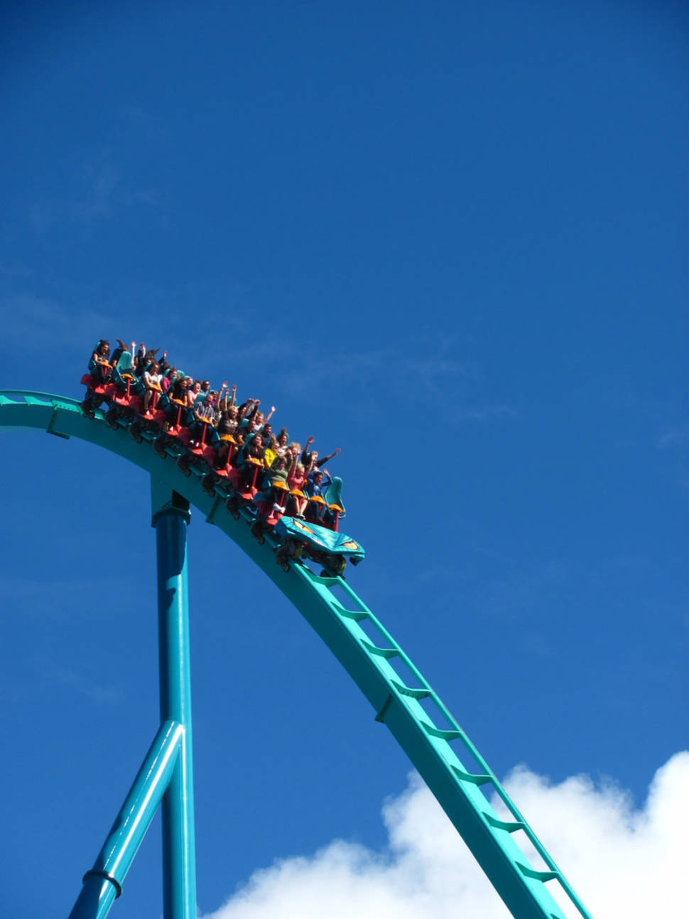 Leviathan coming back down after rocketing to the moon