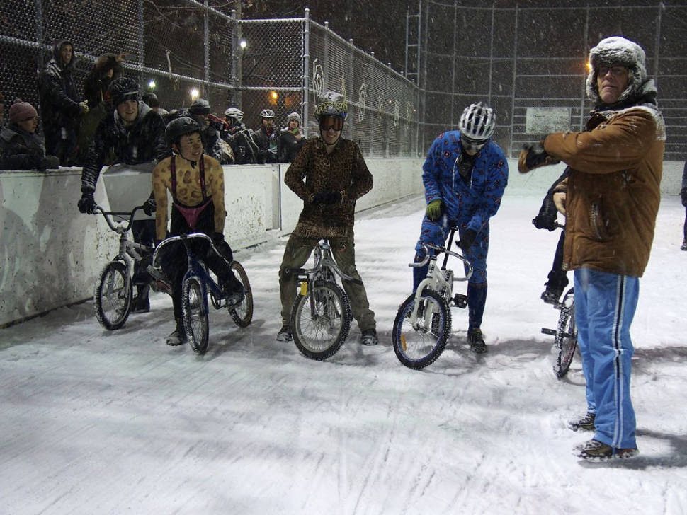 Icycle Race in Toronto - Best Time