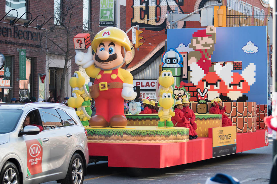 Best time to see Santa Claus Parade