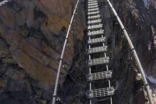 Ponte Tibetano Cesana Claviere