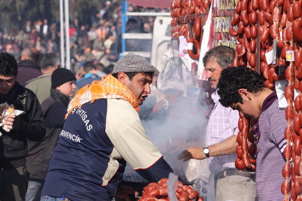 Camel Sausages in Turkey - Best Season