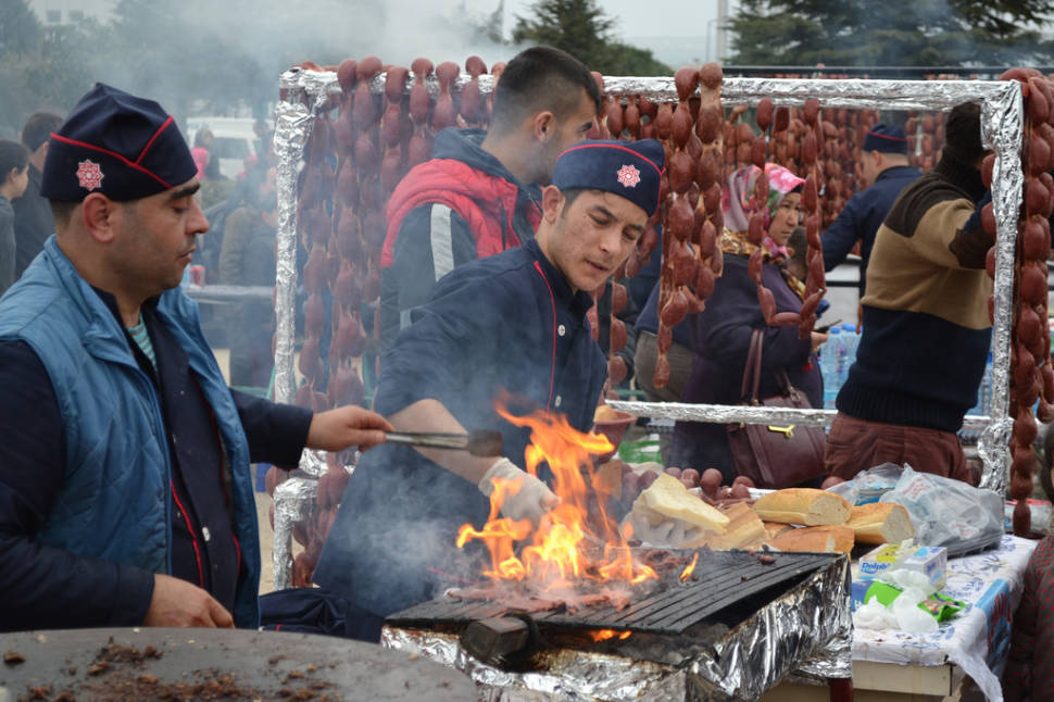 Best time for Camel Sausages in Turkey