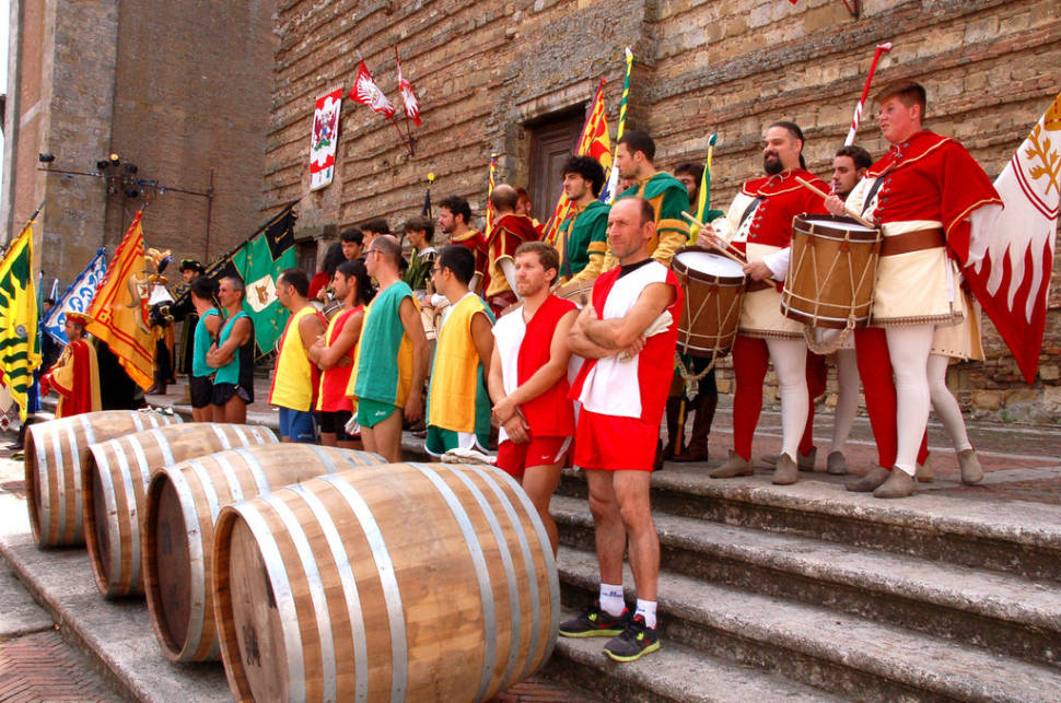 Bravio delle Botti in Tuscany - Best Season