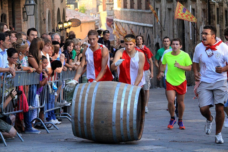 Bravio delle Botti in Tuscany - Best Time
