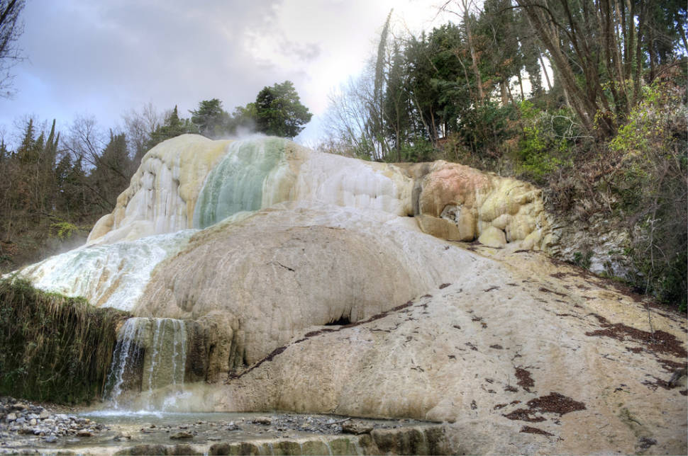 Best Time to See Fosso Bianco, Bagni San Filippo in Tuscany 2018
