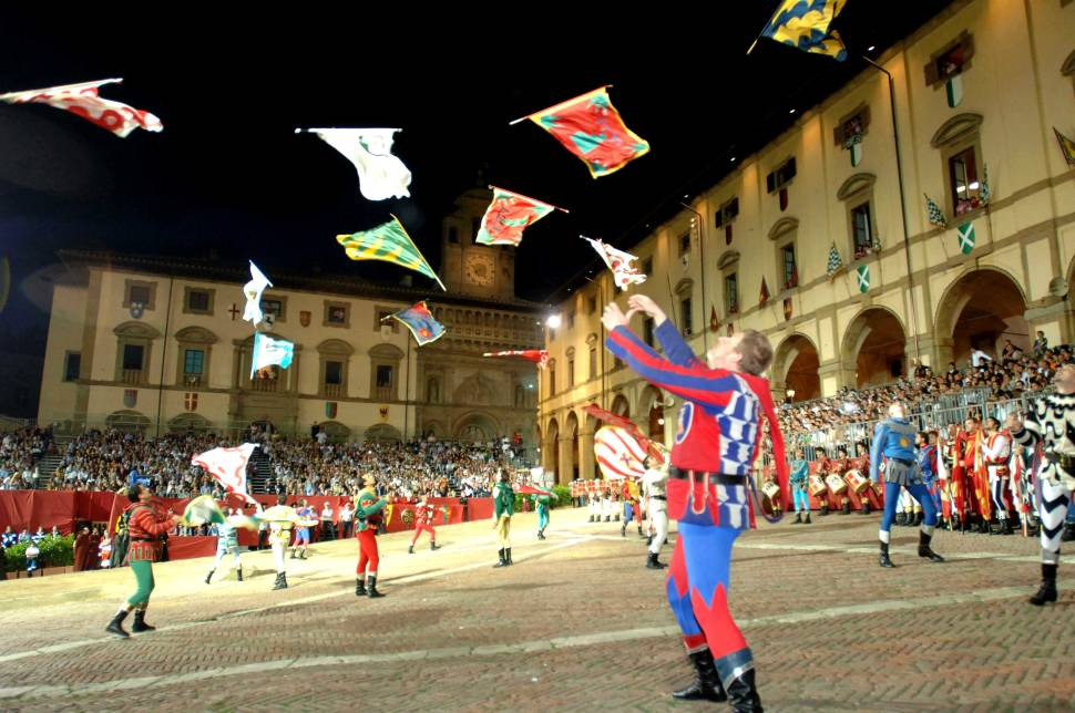Best time to see Giostra del Saracino (Joust of the Saracens) in Tuscany