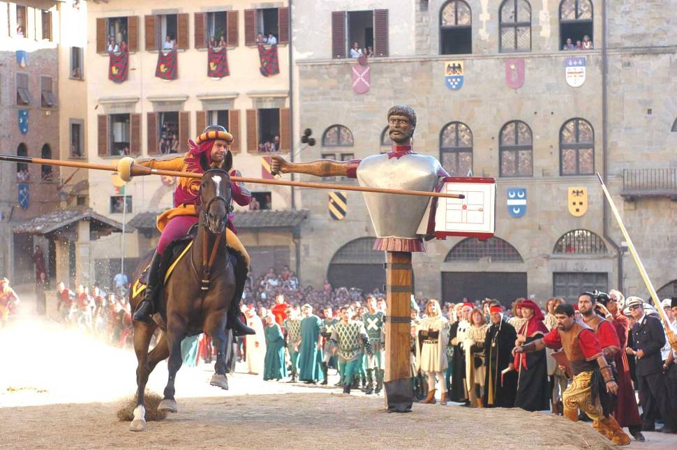 Best time for Giostra del Saracino (Joust of the Saracens) in Tuscany