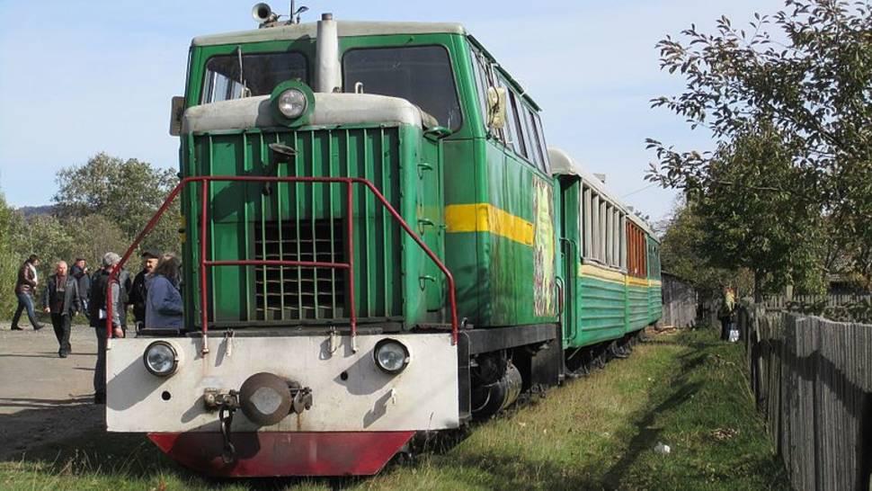 Carpathian Tram in Ukraine - Best Season