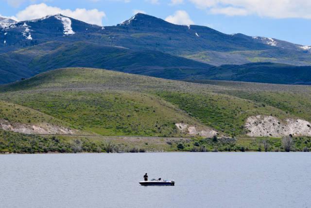Best time for Fishing in Utah