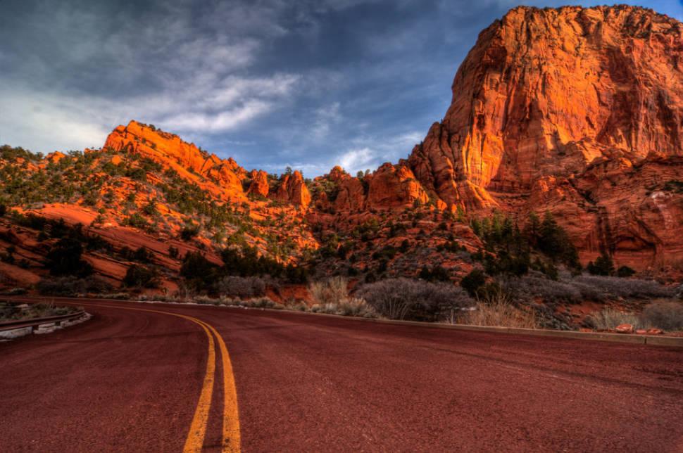 Kolob Canyons Scenic Drive in Utah - Best Season