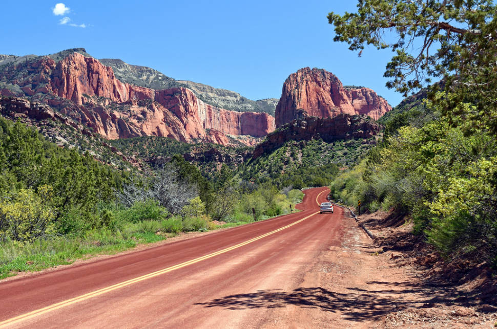 Kolob Canyons Scenic Drive in Utah - Best Time