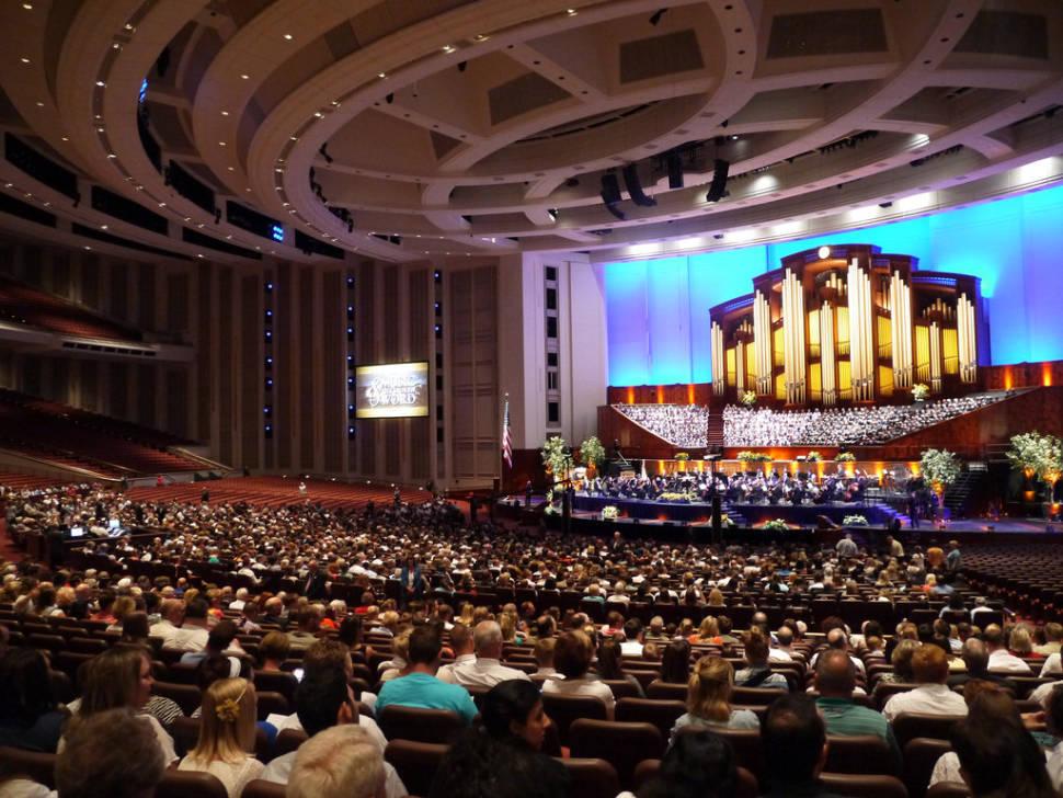 Mormon Tabernacle Choir Christmas Concert 2018 in Utah - Dates & Map