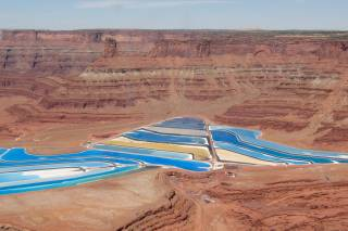 Potash Evaporation Ponds