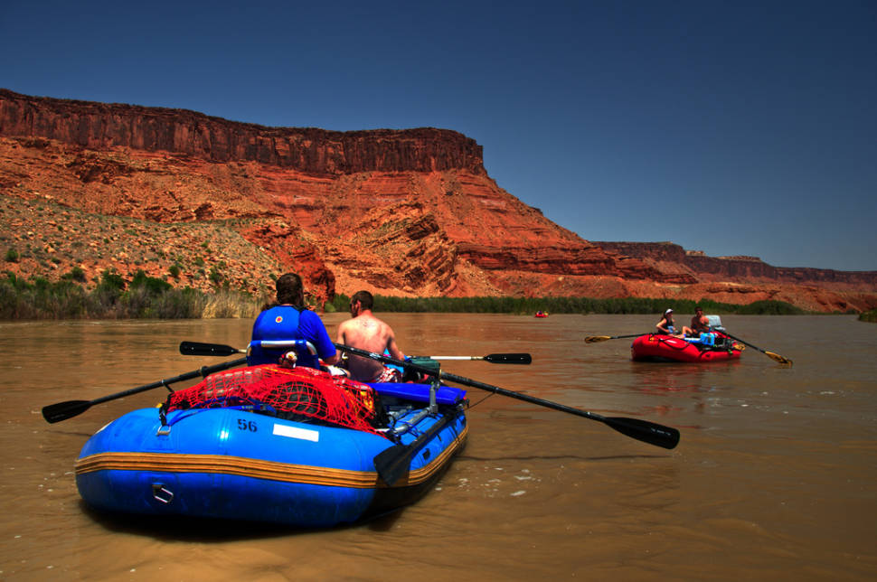 Best time for Rafting Season in Utah