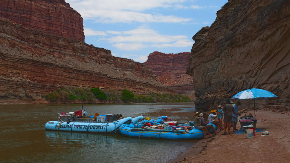 Best time to see Rafting Season in Utah