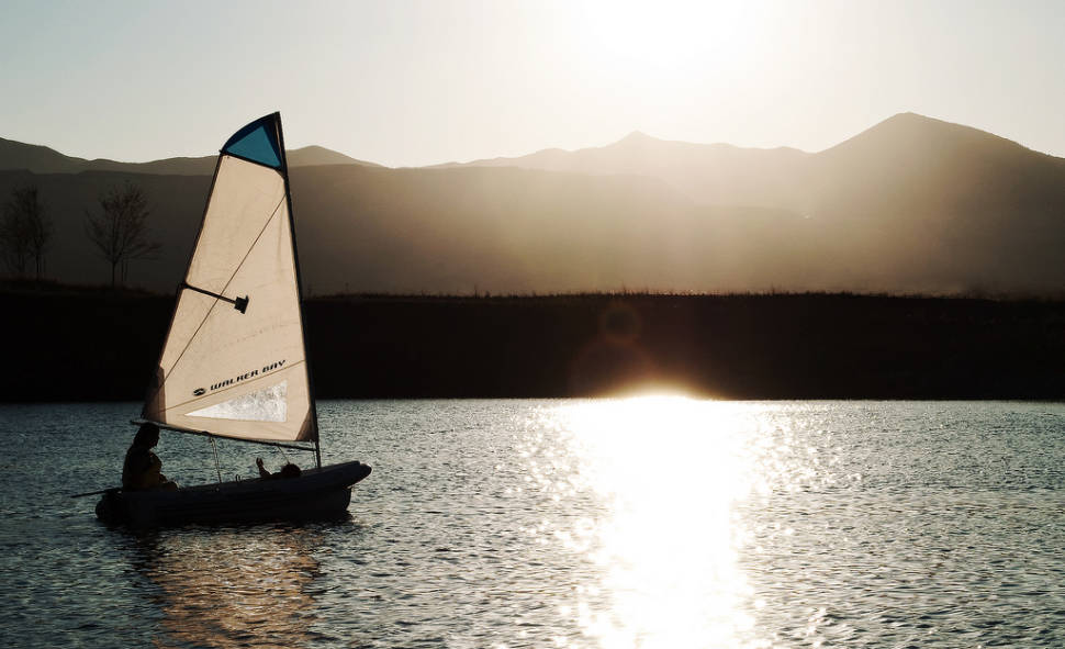 Best time for Sailing in Utah