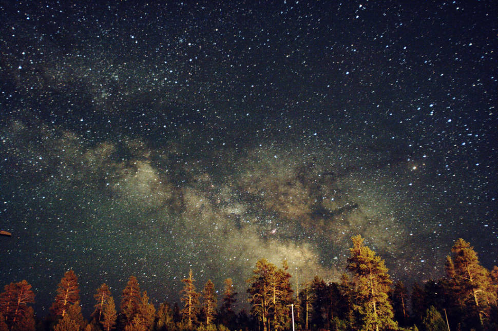 Milky Way just outside Bryce Canyon