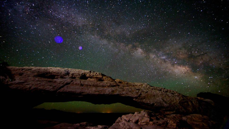 Milky Way, Mesa Arch, Canyonlands National Park, Utah